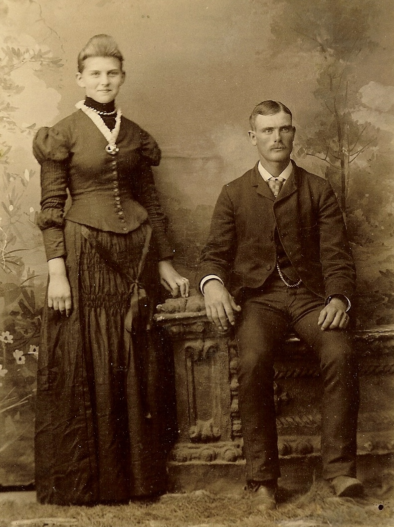Williams. Charles Thomas Williams and wife Clara Belle Estep